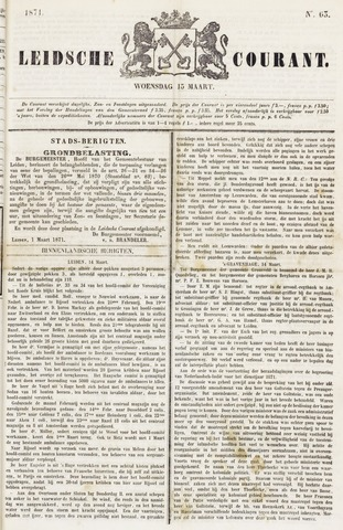 Leydse Courant 1871-03-15