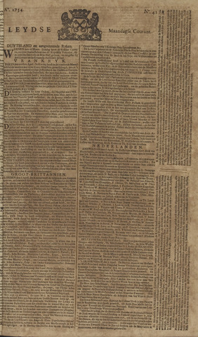 Leydse Courant 1754-04-08