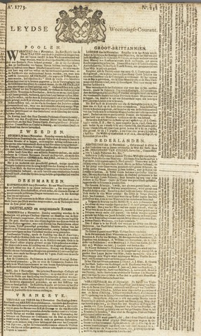 Leydse Courant 1773-11-17