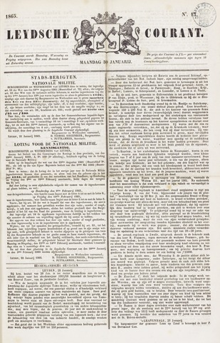 Leydse Courant 1865-01-30