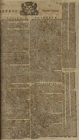 Leydse Courant 1751-04-09