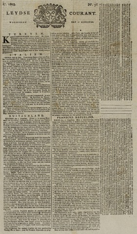 Leydse Courant 1803-08-17