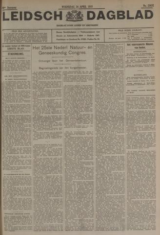 Leidsch Dagblad 1935-04-24