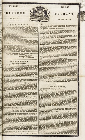 Leydse Courant 1843-12-22