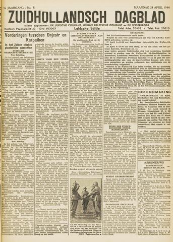 Zuidhollandsch Dagblad 1944-04-24