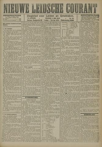 Nieuwe Leidsche Courant 1923-05-04