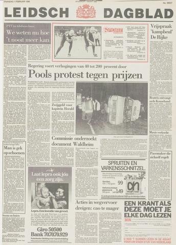 Leidsch Dagblad 1988-02-01
