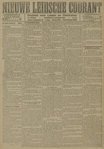 Nieuwe Leidsche Courant 1923-01-03
