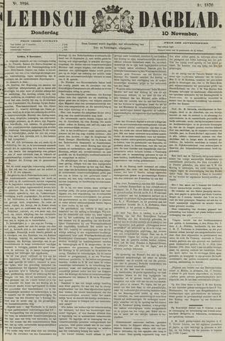 Leidsch Dagblad 1870-11-10