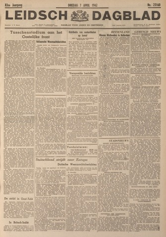 Leidsch Dagblad 1942-04-07