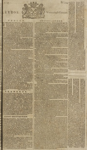 Leydse Courant 1773-10-06