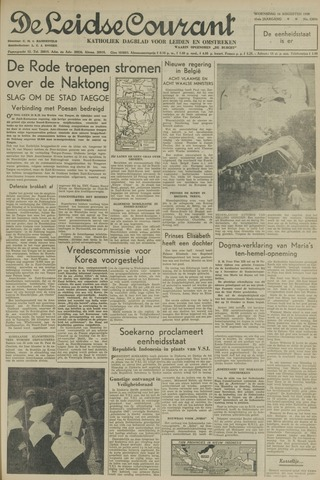 Leidse Courant 1950-08-16