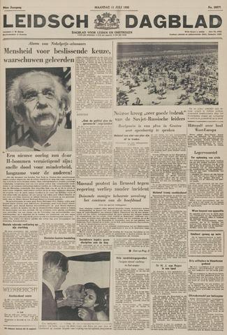 Leidsch Dagblad 1955-07-11