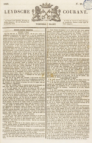 Leydse Courant 1860-03-07
