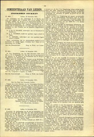 Handelingen van de Raad 1911-12-12