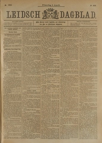Leidsch Dagblad 1902-04-01