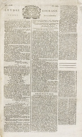 Leydse Courant 1818-08-28