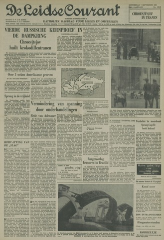 Leidse Courant 1961-09-07