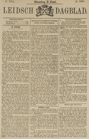 Leidsch Dagblad 1885-06-02