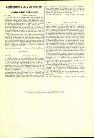 Handelingen van de Raad 1936-07-10