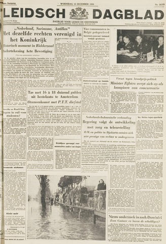 Leidsch Dagblad 1954-12-15