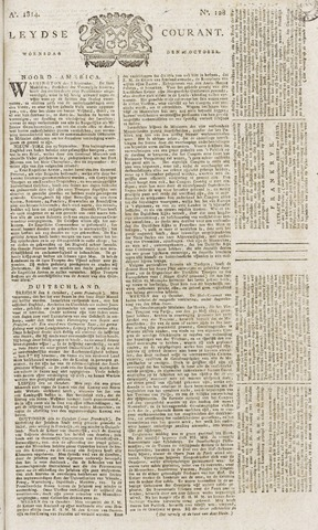 Leydse Courant 1814-10-26