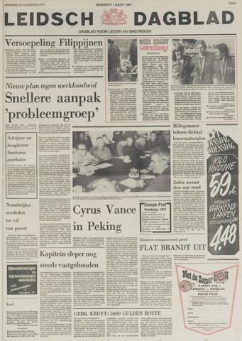 Leidsch Dagblad 1977-08-22