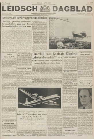 Leidsch Dagblad 1955-04-05