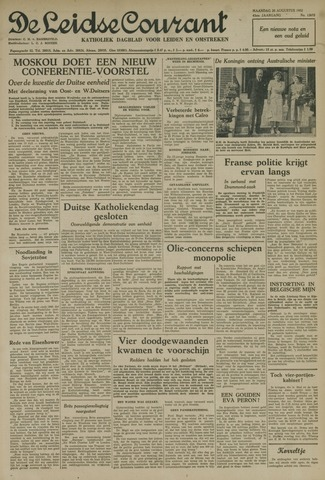 Leidse Courant 1952-08-25