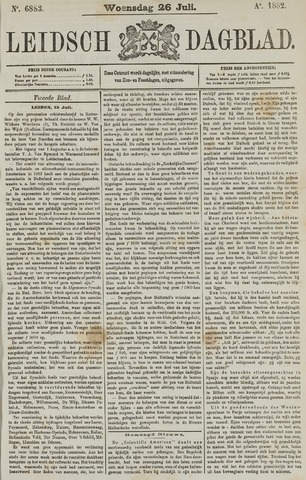Leidsch Dagblad 1882-07-26