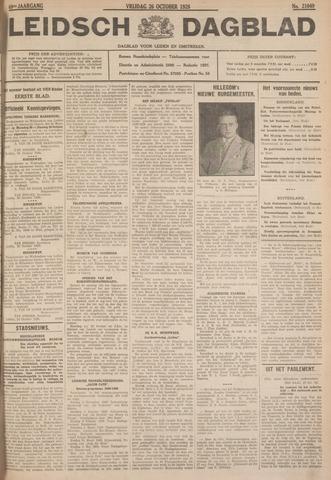 Leidsch Dagblad 1928-10-26