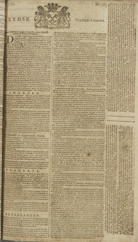 Leydse Courant 1772-09-18
