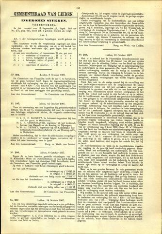 Handelingen van de Raad 1907-10-08