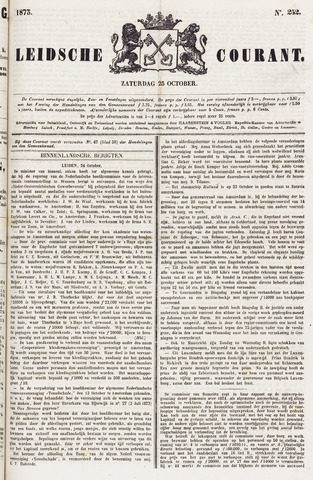 Leydse Courant 1873-10-25
