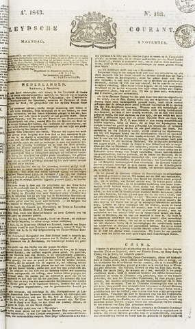 Leydse Courant 1843-11-06