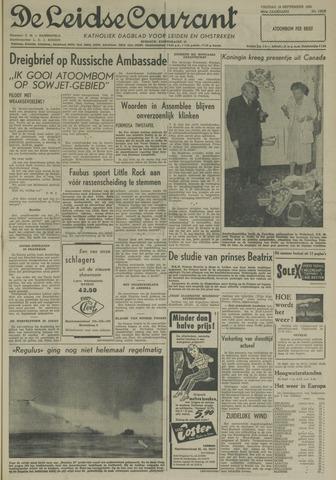 Leidse Courant 1958-09-19