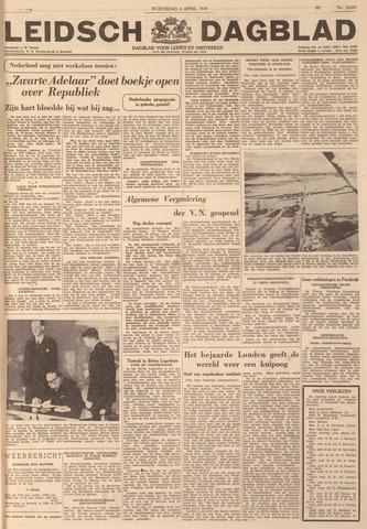 Leidsch Dagblad 1949-04-06