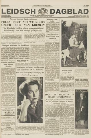 Leidsch Dagblad 1956-10-20