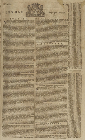 Leydse Courant 1754-05-31