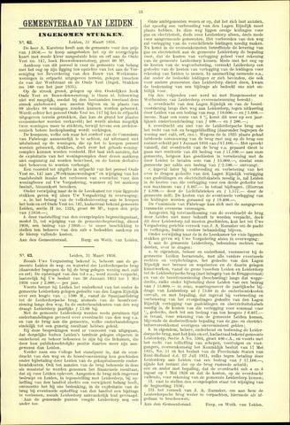 Handelingen van de Raad 1936-03-31