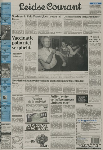 Leidse Courant 1992-09-23