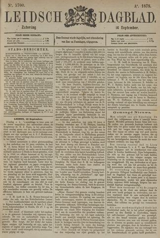 Leidsch Dagblad 1878-09-14