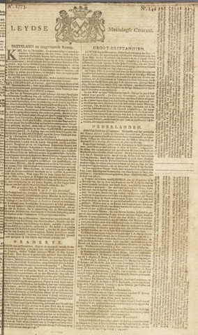 Leydse Courant 1773-12-06