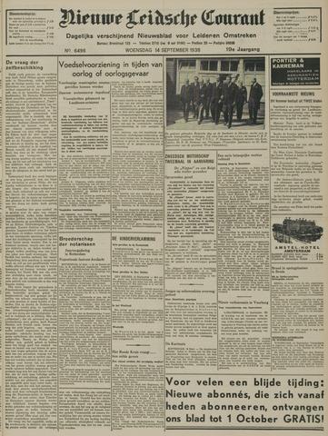 Nieuwe Leidsche Courant 1938-09-14