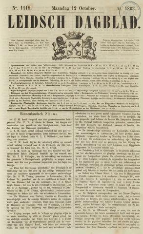 Leidsch Dagblad 1863-10-12