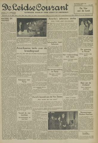 Leidse Courant 1951-04-02