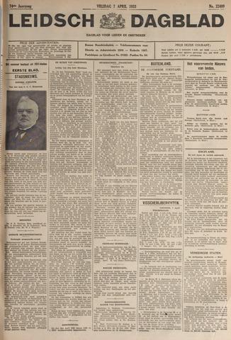 Leidsch Dagblad 1933-04-07