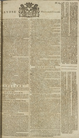 Leydse Courant 1772-05-27