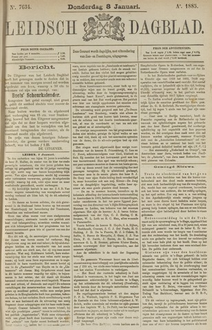 Leidsch Dagblad 1885-01-08