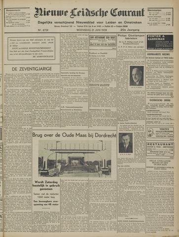 Nieuwe Leidsche Courant 1939-06-21